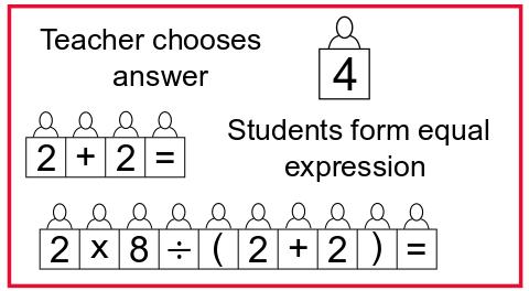 teacher chooses answer